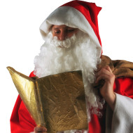 Unser Weihnachtsmann und Nikolaus, der in Karlsruhe, Bruchsal, Rastatt für Sie unterwegs ist